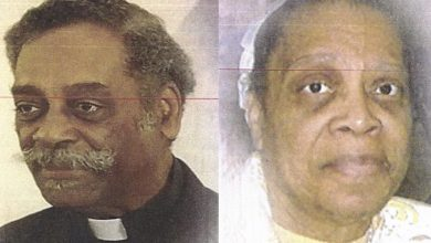 Photo of D.C. Mourns Pentecostal Pioneers E. Myron Noble, 77, and Shiren Noble, 76