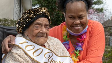 Photo of D.C. Resident Virginia H. Keane Turns 101 Years Old