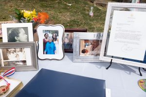 Photographs and a city resolution mark the life of Virginia H. Keane. (Shevry Lassiter/The Washington Informer)