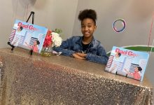 Photo of D.C. 'Tween' Eris Aubrie Busey Pens Book for Fatherless Peers