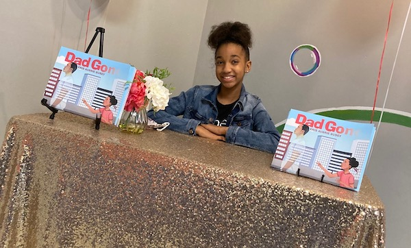 """Eris Aubrie Busey, a proud native Washingtonian, continues to travel throughout the region for book signings and to read and discuss her book, """"Dad Gone."""" (Courtesy photo)"""