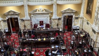 Maryland Senate convened March 2 with eight police reform bills on the agenda. (William J. Ford/The Washington Informer)