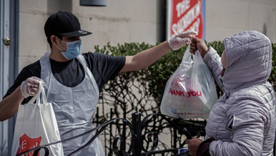 Photo of Salvation Army Trudges On During Pandemic