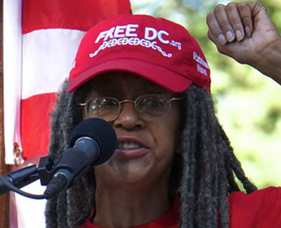 Anise Jenkins is the executive director of Stand Up! For Democracy in DC, a pro-statehood organization. (Courtesy photo)