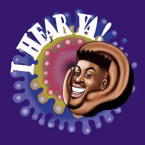 The logo for Darryll Brooks' I Hear Ya! Entertainment, LLC. (Courtesy Darryll Brooks)