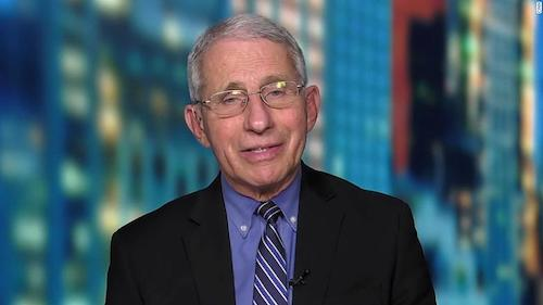 """Dr. Anthony Fauci appears on CNN's """"Erin Burnett OutFront"""" on March 3."""