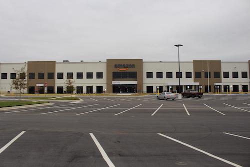 **FILE** An Amazon warehouse in Georgia is shown here. (Michael Rivera via Wikimedia Commons)