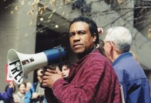 Damu Smith championed the fight for environmental justice, equity, and human rights across the globe. (Shantella Y. Sherman/The Washington Informer)
