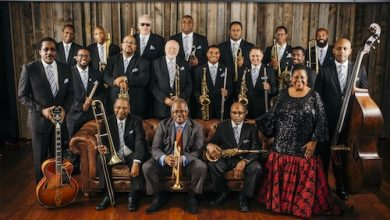 The Count Basie Orchestra (Courtesy of Scotty Barnhart)