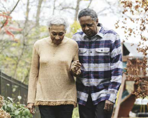 Blacks face greater disparities in Alzheimer's diagnoses and care. (Courtesy of Alzheimer's Association)