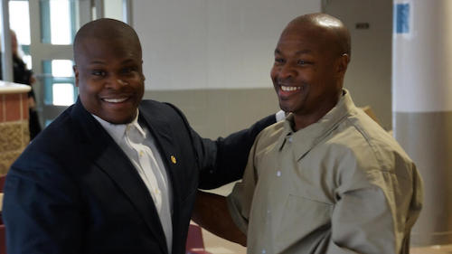 Tony Lewis Jr. (left) and his father Tony Lewis (Courtesy photo)
