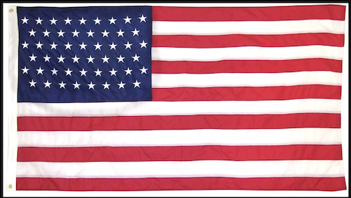 A flag with 51 stars (WI file photo)