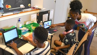 Some households in the District of Columbia lack devices to access the internet, which was brought to light when students had to turn to virtual learning and seniors needed to sign up for vaccinations. (Courtesy photo)