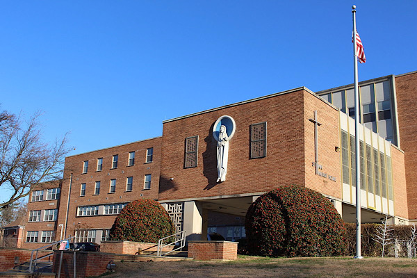 The main building for St. Ann's Center for Youth Children and Families (Wikimedia Commons)