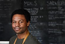Peter Opare, co-owner and chef of Open Crumb (Courtesy of Open Crumb)