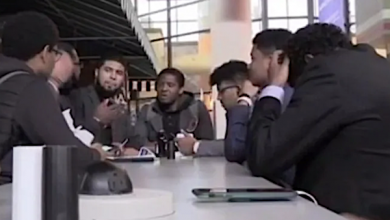 Morehouse College men withdrew from a debate tournament due to racist taunts. (Courtesy of Morehouse College)