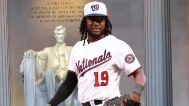 Photo of Josh Bell Named Nationals Youth Baseball Academy Player Ambassador
