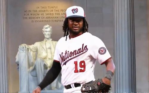 Josh Bell (Courtesy of the Washington Nationals via Twitter)