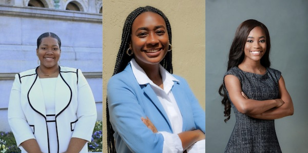From left: Ariana Cobb, Nyah Hardmon and Ashleigh Fields