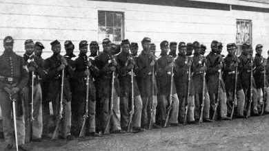 Photo of Black Civil War Regiment Honored in Detroit