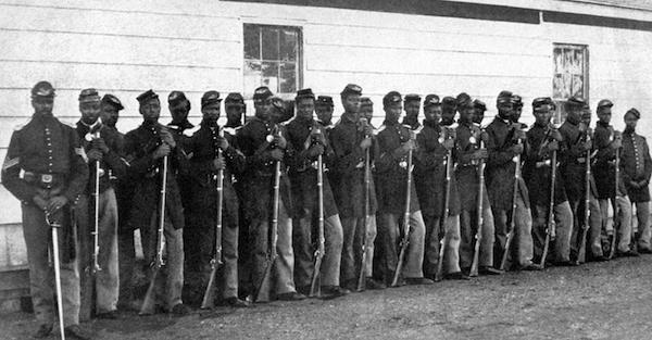 Photo of Black Civil War Regiment Honored in Detroit