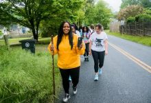 Photo of Kelly Diane Galloway: On a Walk to Derail Human Trafficking