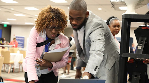 Faculty skill building is part of UNCF's commitment to HBCUs and PBIs. The scholarship organization has partnered with Strategic Education to elevate skills for delivering higher-education distance learning. (Courtesy of UNCF)