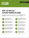 AD - Neighborworks Stop Home Scams Top Ten Tips