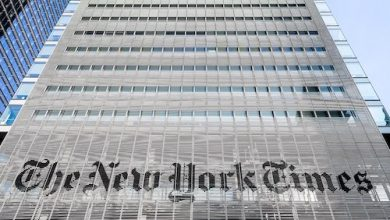 **FILE** The New York Times building in Midtown Manhattan (Ajay Suresh via Wikimedia Commons)