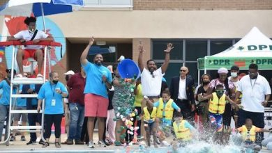 D.C. Mayor Muriel Bowser kicked off summer with the opening of outdoor pools in the city on Friday, May 28. (Courtesy of D.C. Department of Parks and Recreation)