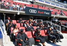 The first commencement of Bard High School Early College graduates was held at Audi Field in southwest D.C. on June 24. (Anthony Tilghman/The Washington Informer)