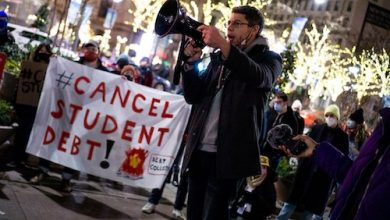 Protests abound for canceling student loan debts. (Courtesy photo)