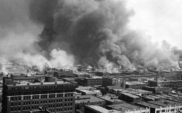 Destruction from the 1921 Tulsa race massacre (loc.gov)