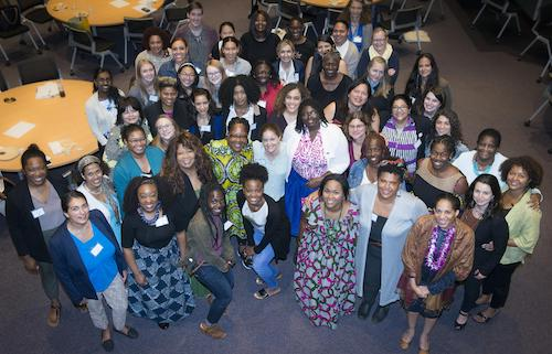 Attendees gather during the Women's Environmental Leadership luncheon. (Courtesy of the Smithsonian's Anacostia Community Museum)