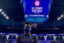 Photo of Miles Simon Represents Howard U. at the U.S. Swimming Olympic Trials