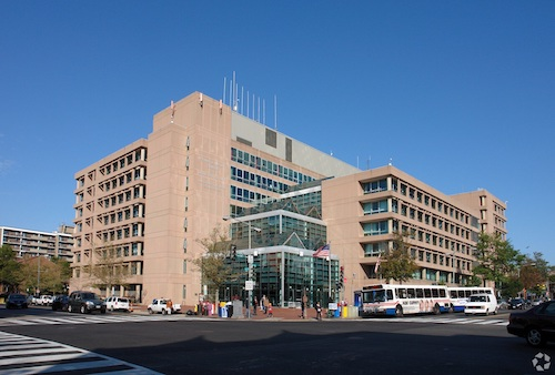 The Reeves Center in northwest D.C. is set to be redeveloped. (Courtesy photo)