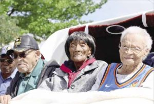 The last survivors of the Greenwood Massacre (Courtesy photo)