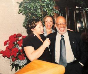 James Dula with his daughter, Tonya Dula Clayon, and his wife, Phyllis. (Photo courtesy of James Dula)