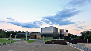 An exterior view of the National Museum of the United States Army at Ft. Belvoir, Va. (Courtesy of the National Museum of the United States Army)
