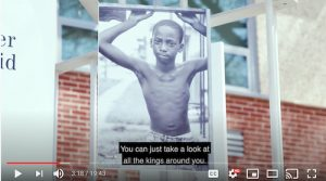 """Screenshot of """"Men of Change: Taking it to the Streets"""" video tour created for incarcerated men and women housed in the D.C. Jail."""