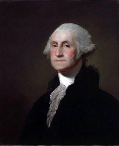 President George Washington set the boundaries of the new federal district in 1790.