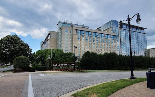 The Gaylord National Resort and Convention Center is hosting the National Association of Counties Conference this week. (Anthony Tilghman/The Washington Informer)