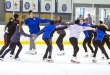 Skaters have fun at the Fort Dupont Ice Arena in Ward 7. (Courtesy photo)