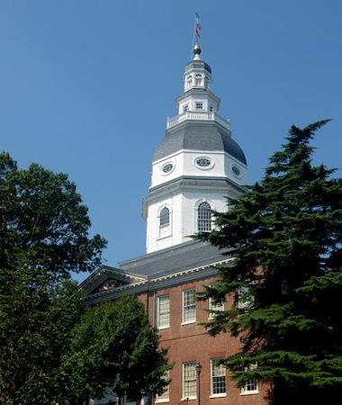 **FILE** Maryland State House (Courtesy of maryland.gov)