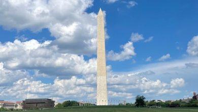 The Washington Monument (Courtesy of the National Park Service)