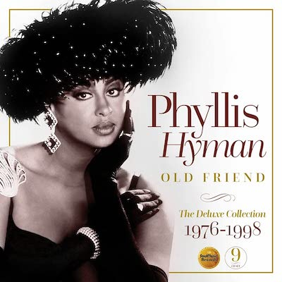 """""""Phyllis Hyman – Old Friend: The Deluxe Collection 1976-1998"""" is a nine-CD compilation of 113 tracks from Hyman's albums along with previously unreleased tracks. (Photo courtesy SoulMusic.com)"""