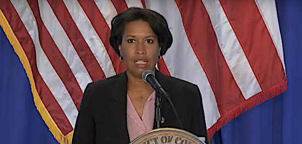 D.C. Mayor Muriel Bowser speaks during an Aug. 18 press conference on the city's response to the coronavirus pandemic.