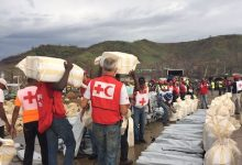 The United Nations estimates that 40% of Haiti's 12 million residents need emergency aid but flash flooding and landslides have many relief workers fearing illness and disease. (Courtesy of Red Cross)