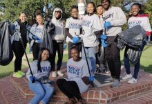 Howard University hosted its annual Day of Service in person after being virtual last year and amid the rise of the delta variant. (Courtesy of The Hilltop Online)