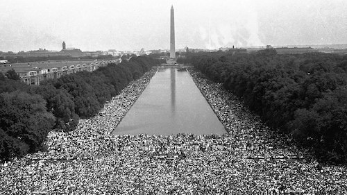 The 1963 March on Washington attracted more than 250,000 poarticipants. (Courtesy photo)